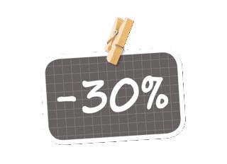 -30% sur vos cartes de remerciement