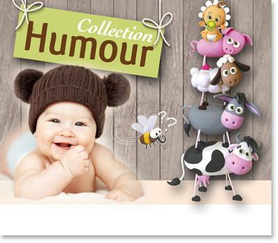 faire part naissance humour