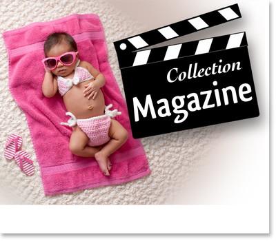 faire part naissance magazine